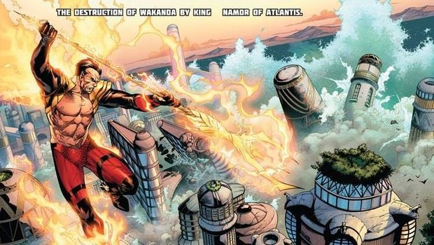 Joe Taslim Digadang Perankan Namor, Anti-Hero Pertama di Komik Marvel