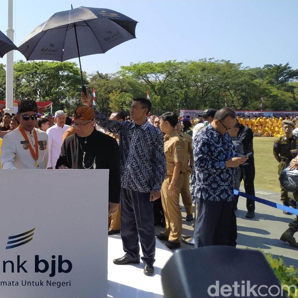 Peringati HUT Jabar, Ridwan Kamil Pamer Satu Tahun Kepemimpinannya