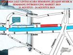 Ada Gelaran Semarjamu, Jalan di Semarang Ini Ditutup 4 Hari