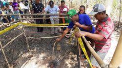 Video Api Menyembur dari Dalam Tanah di Sragen, Warga Penasaran