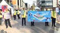 Kampanye di Jalan, BPTJ Ajak Pengendara Beralih ke Angkutan Umum