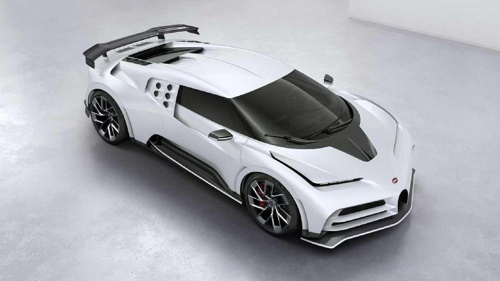 Cara Ronaldo Rayakan Scudetto: Beli Bugatti Centodieci Hitam Putih Rp 137 M