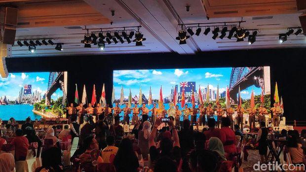 Ada 1.000 atlet dari 21 negara yang ikut acara