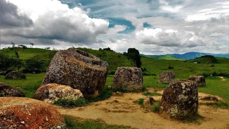 Plain of Jars di Laos (iStock)