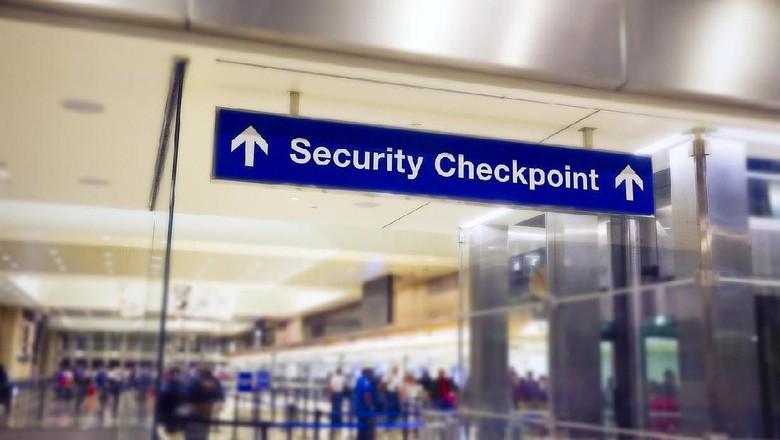 Ilustrasi keamanan bandara (iStock)