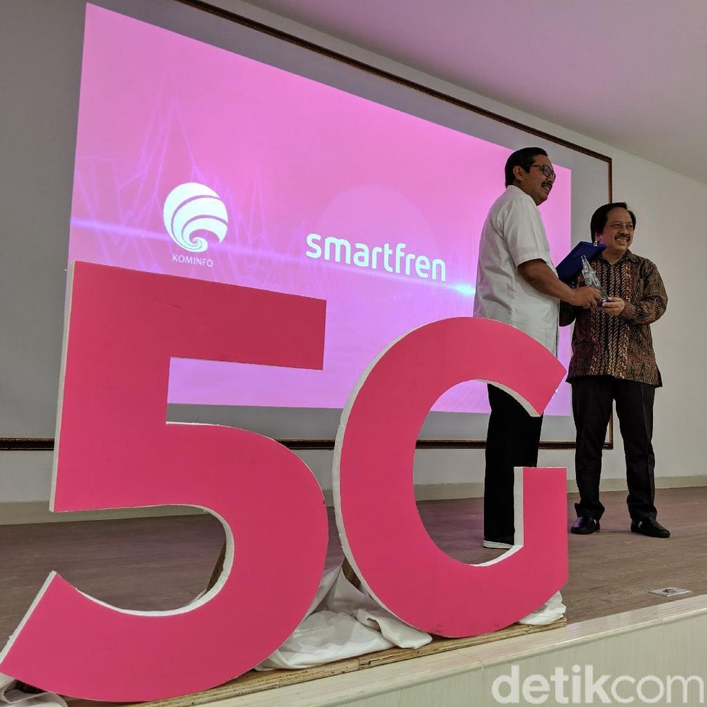 Smartfren Mulai Uji Coba 5G di Indonesia