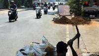 Bagaimana menurut Anda soal proyek galian kabel di Jalan Raden Saleh?