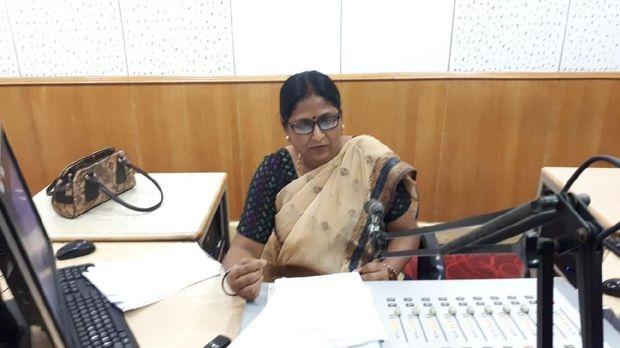 Anita Das saat siaran.