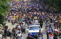 Kerusuhan yang terjadi di Manokwari.