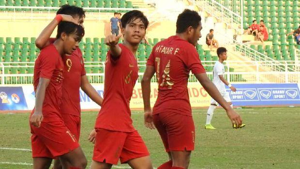 Timnas Indonesia U-19 terus melakukan persiapan untuk Piala Asia U-19 2019. (