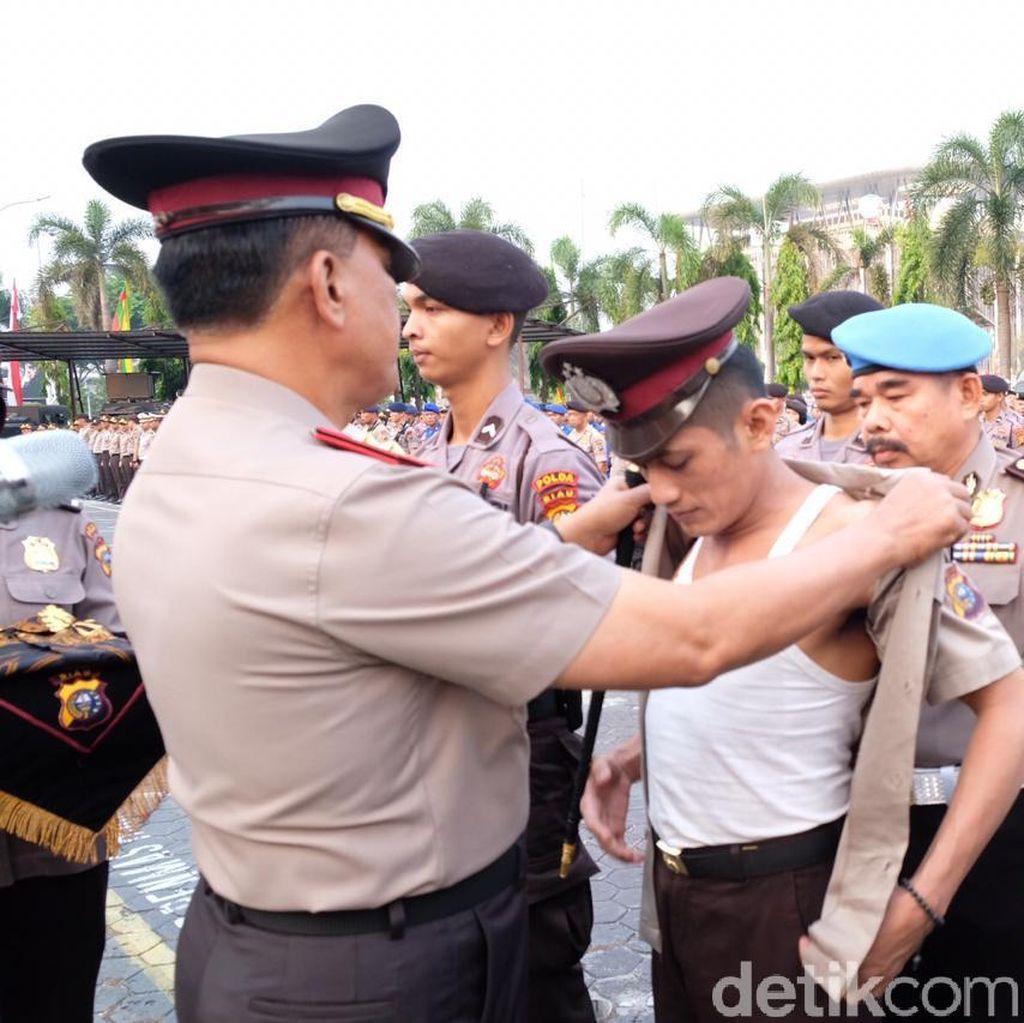 6 Personel Polda Riau Dipecat, Paling Banyak karena Kasus Narkoba