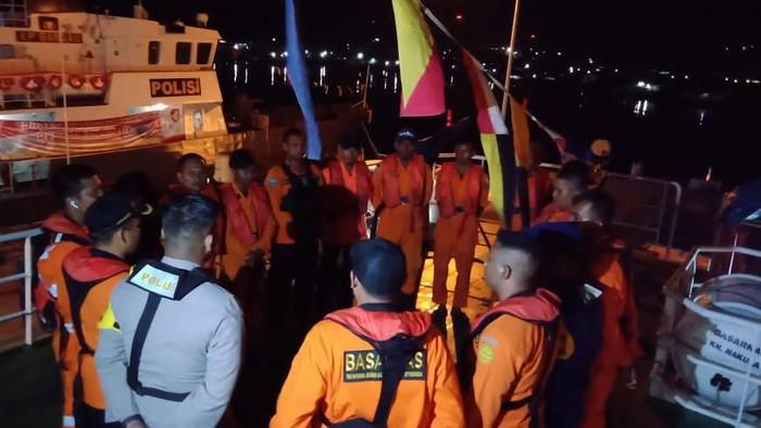 Basarnas Cari KM Makmur Jaya yang Mati Mesin di Perairan Pulau Lakota Tapanuli Tengah (Foto: Istimewa)