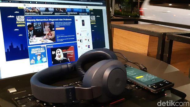 Jabra Elite 85H, Gaya Baru Noise Cancelling