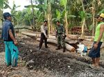Bendera Merah Putih Sepanjang 20 Meter Ditemukan Tertimbun Tanah