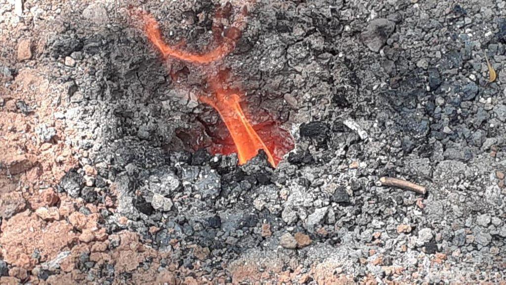 Api Abadi Mrapen Padam, Ternyata Ada Juga Api Alami di Sragen