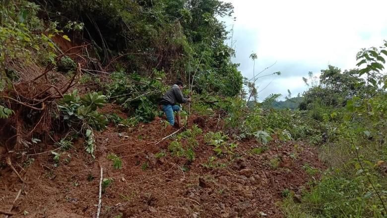 Longsor di Sidrap Sulsel Bikin 7 Dusun Terisolir