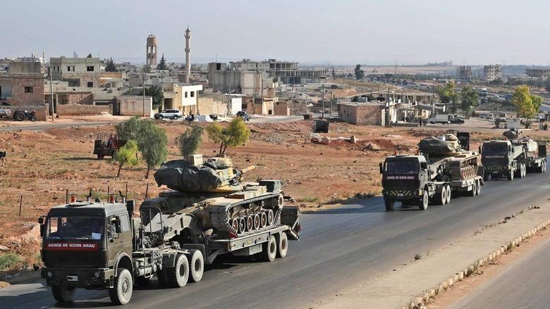 Turki Kutuk Serangan Militer Suriah terhadap Konvoinya