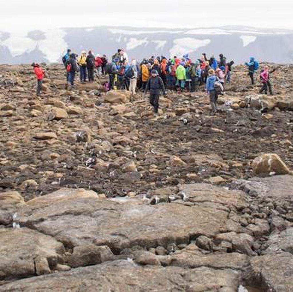 Islandia Peringati Punahnya Okjokull yang Jadi Korban Perubahan Iklim