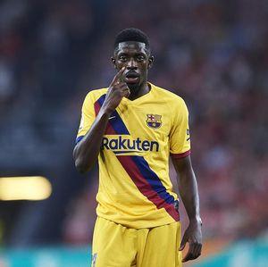 Barcelona Kecewa Betul dengan Kelakuan Dembele