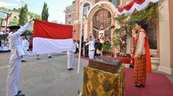 Berpakaian Adat, Cara WNI di Italia Peringati Kemerdekaan Indonesia