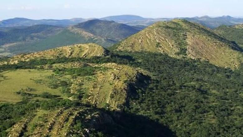 Kawah Fredefort di Afrika Selatan (UNESCO)