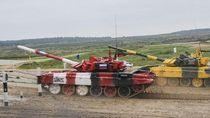 Balapan Tank, Rusia Jadi yang Tercepat