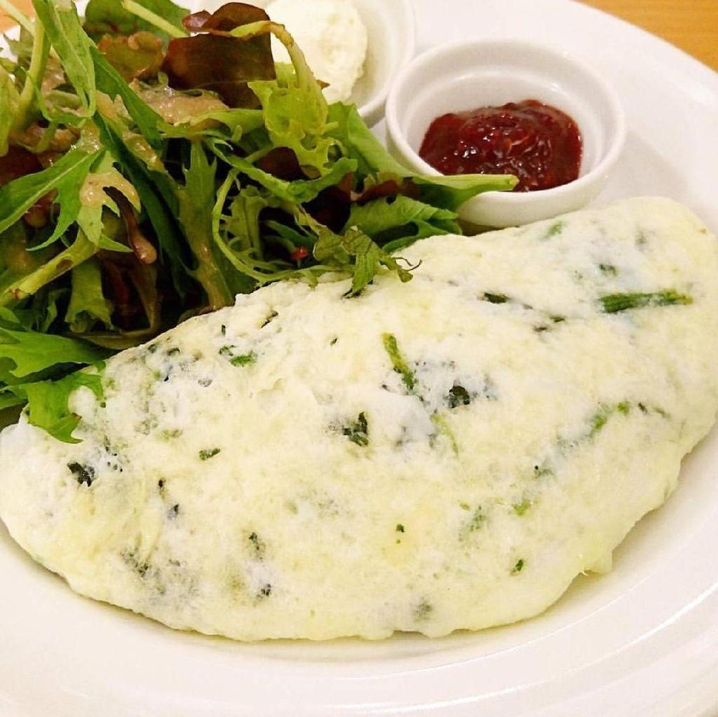Yuk, Bikin Omelet Putih Telur yang Menyehatkan Untuk Sarapan!