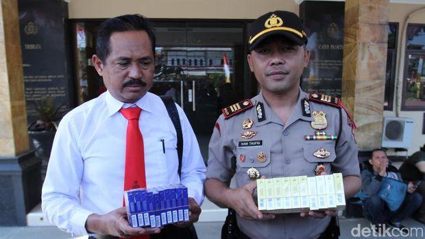 Jebol Atap, Abdul Curi Ribuan Bungkus Rokok di Minimarket Ciwidey