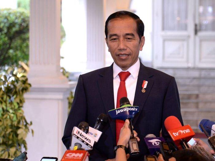 Foto: Presiden Joko Widodo (Jokowi) (BPMI Setpres/Kris)