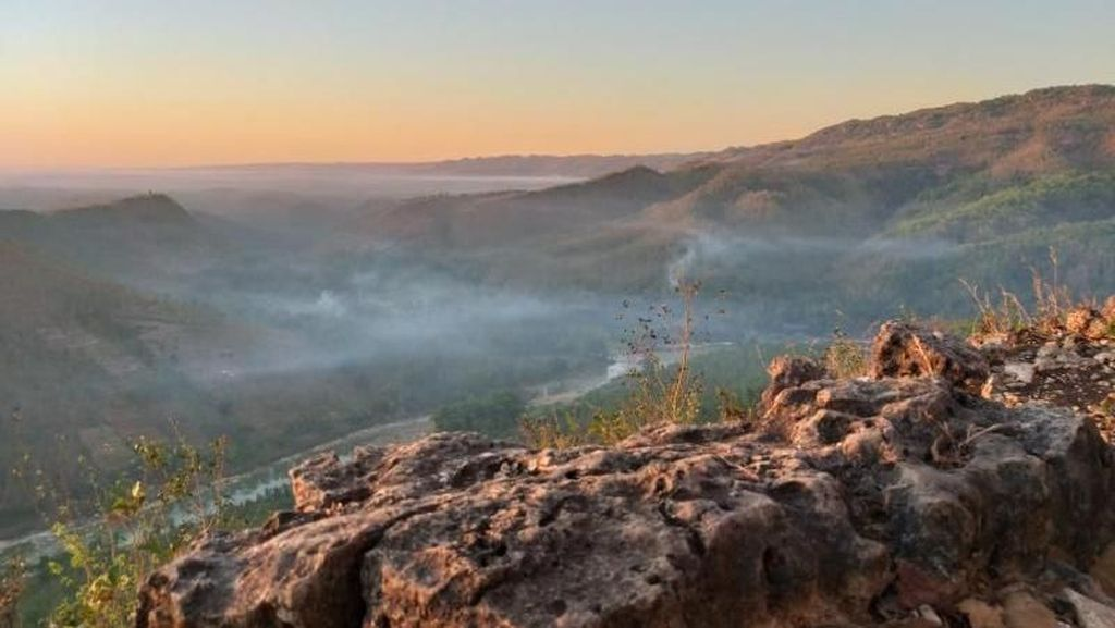 Cantiknya Bukit Panguk di Bantul