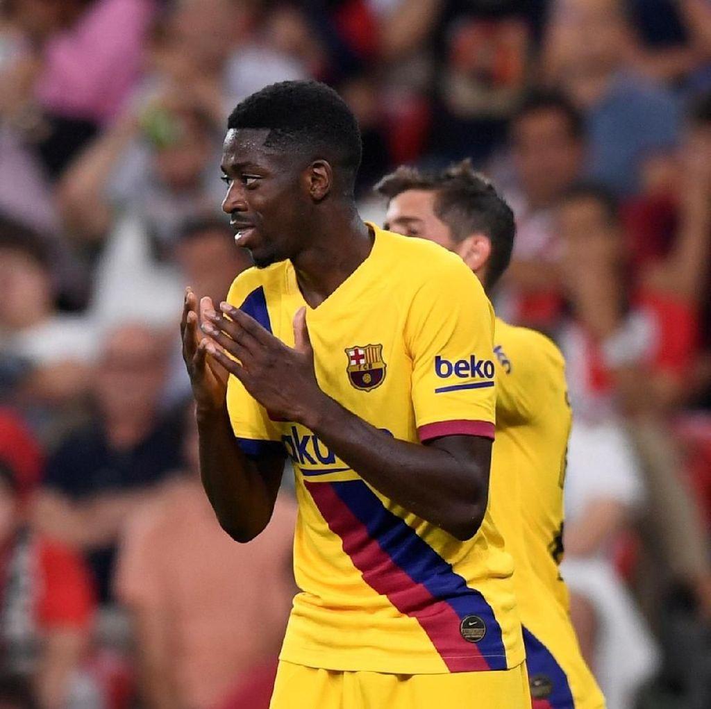 Agen Bantah Dembele ke Senegal Usai Barcelona Kalah dari Bilbao