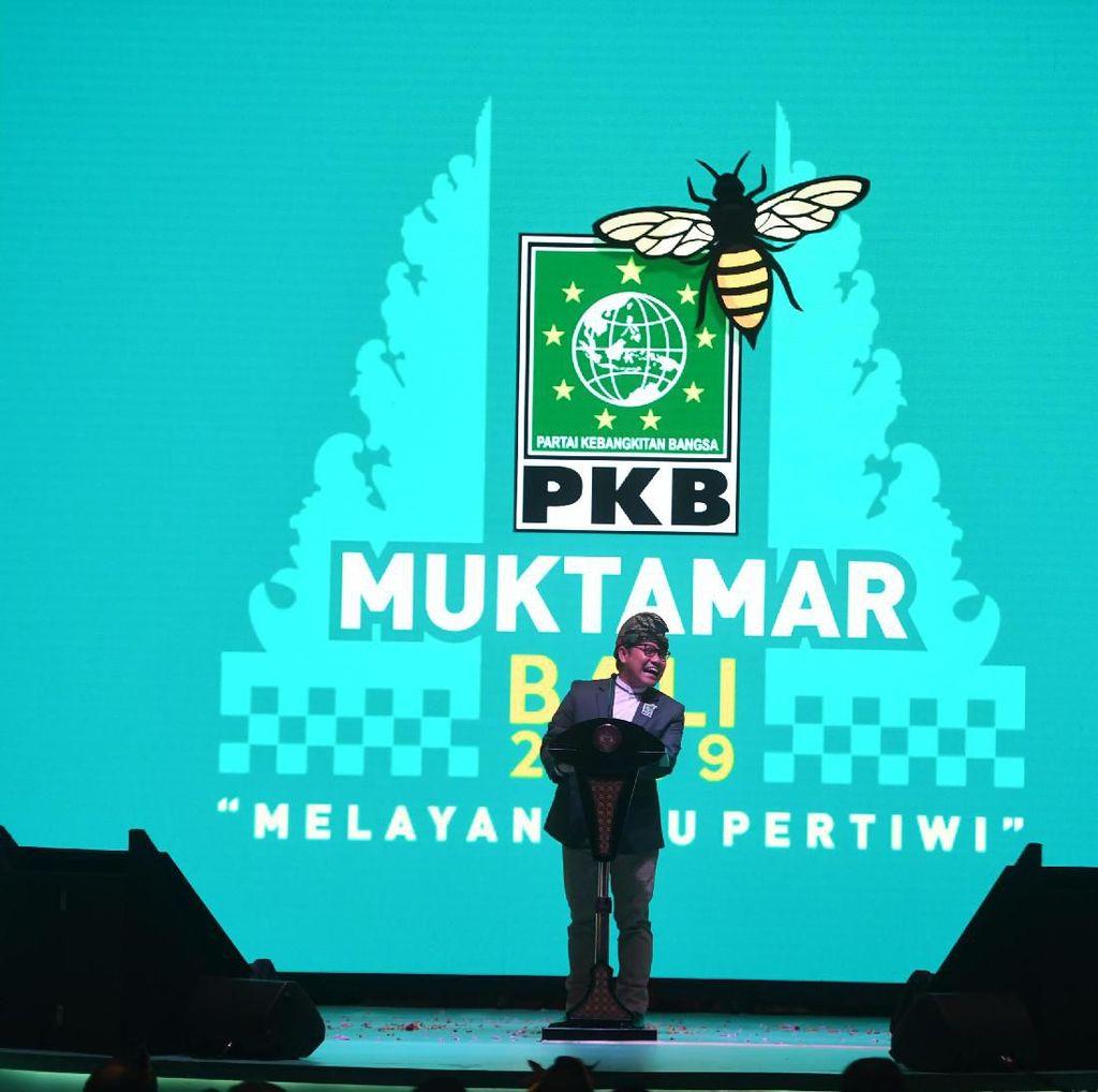 Di Depan Maruf Amin, Cak Imin Jelaskan Makna Lebah di Logo PKB