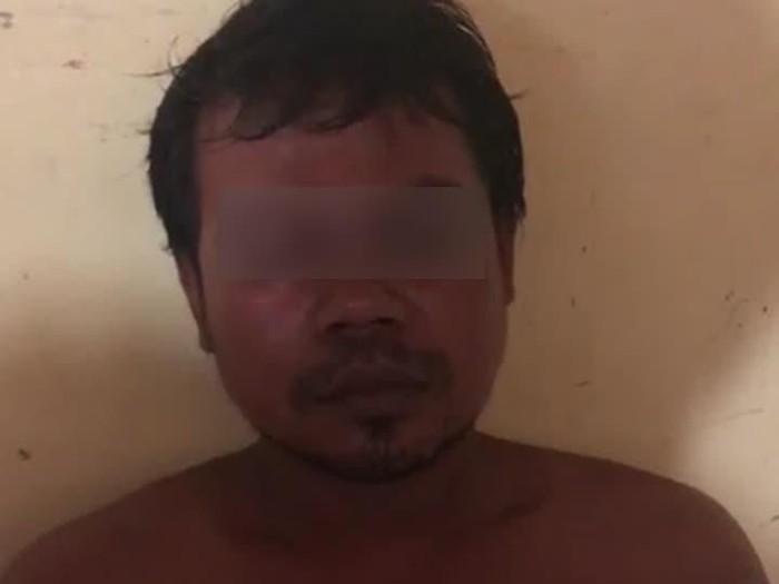 Pelaku pembunuhan sekeluarga di Serang. (Foto: Istimewa)