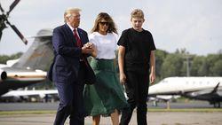 7 Fakta Barron Trump, Putra ABG Donald Trump yang Juga Kena Corona