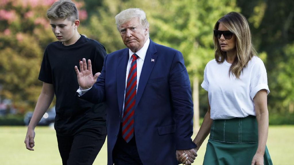 Presiden Trump Bocorkan Rahasia Militer AS Lewat Twitter