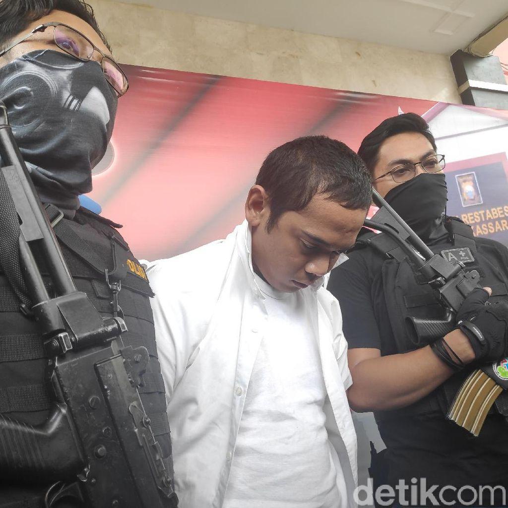 Caleg Terpilih DPRD Makassar Ditangkap, Sabu dan Ganja Sitentis Disita