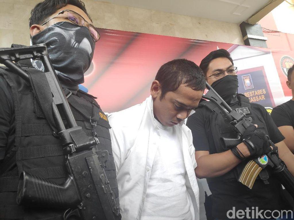 Polisi Tangkap Caleg Terpilih DPRD Makassar, Sabu dan Ganja Disita