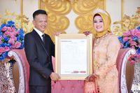 Rizki Annisa dinikahi dengan mahar berupa saham