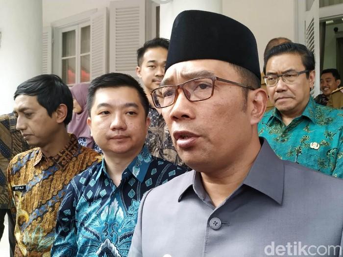 Gubernur Jabar Ridwan Kamil. (Foto: Mukhlis Dinillah/detikcom)