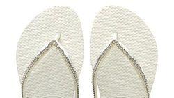 Sandal Jepit Khusus Pengantin Dijual Rp 2,2 Juta, Berhias Swarovski