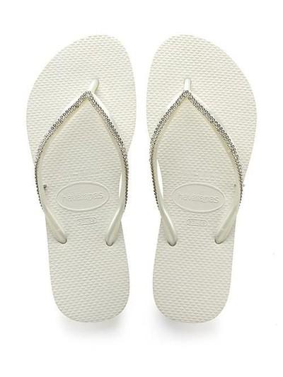 Sandal jepit mewah berhias Swarovski. Foto: istimewa/Havaianas
