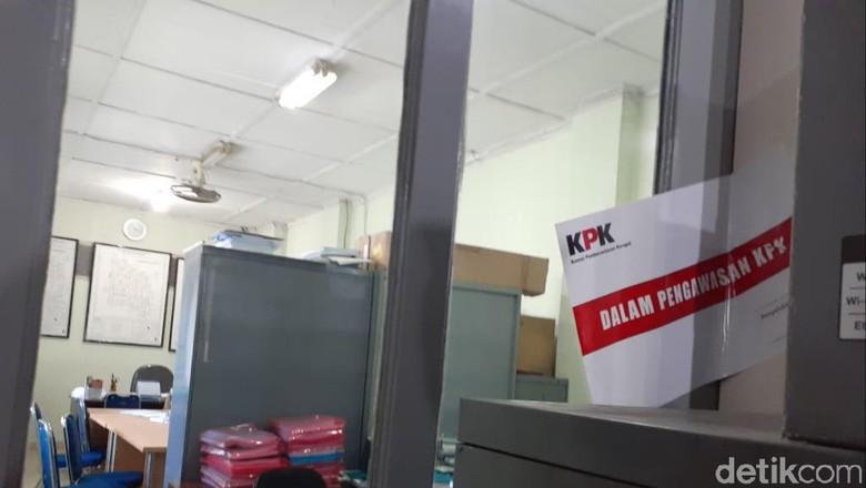 Suasana Terkini Kantor Bidang SDA Dinas PU Yogya yang Disegel KPK