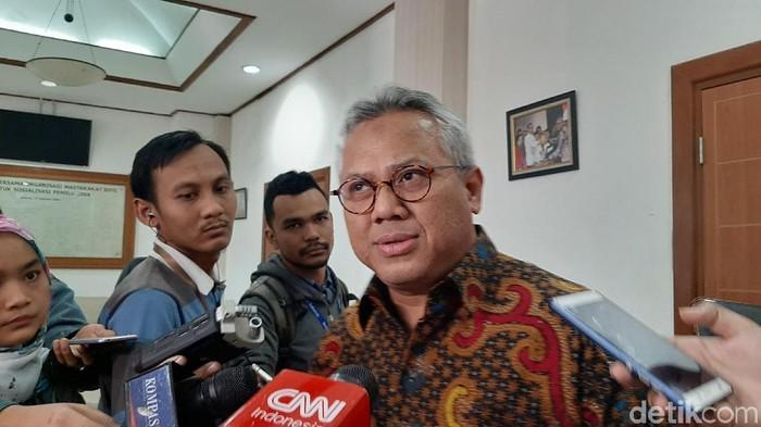 Ketua KPU RI Arief Budiman (Lisye Sri Rahayu/detikcom)