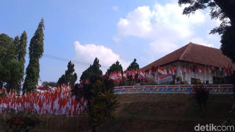 Gedung Perundingan Linggarjati dulunya Hotel Merdeka (Sudirman Wamad/detikTravel)