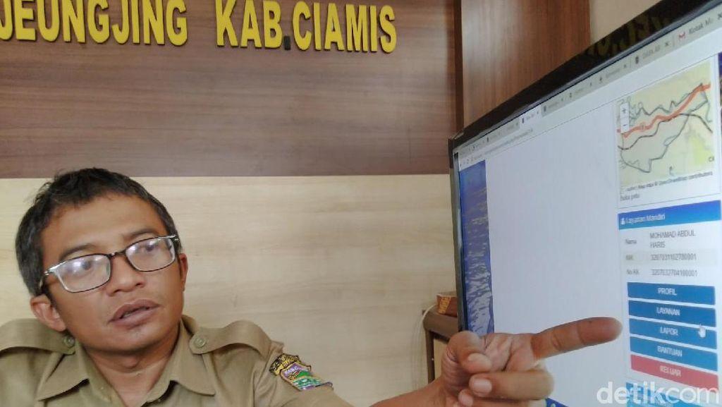 Urus Administrasi Kependudukan di Karangkamulyan Ciamis Cukup 30 Detik