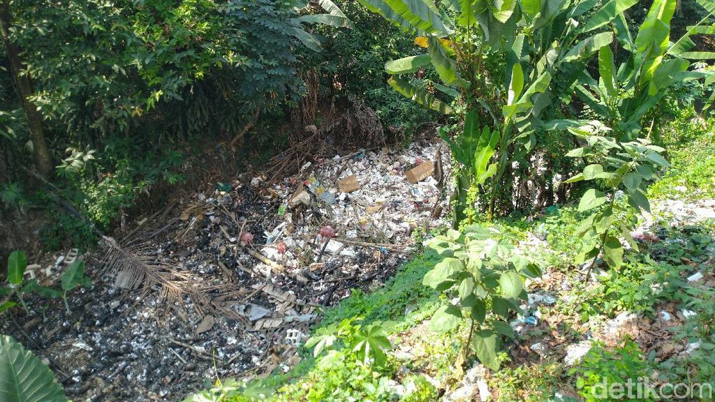 Bak Reklamasi, Muncul Pulau Sampah di Perairan Kalibaru Bogor
