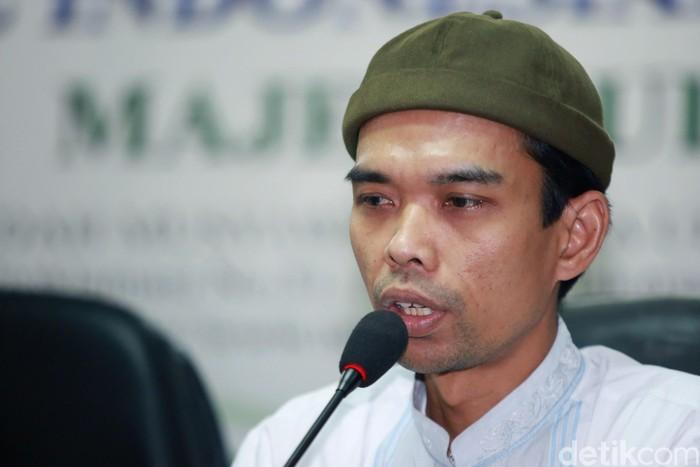 Ustaz Abdul Somad (Foto: Agung Pambudhy-detikcom)