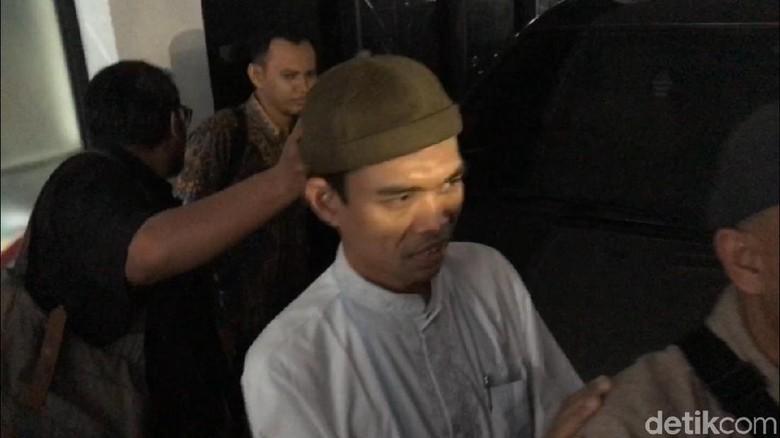 Ustaz Abdul Somad Penuhi Panggilan MUI
