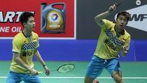 Kalah Dramatis, Kevin/Marcus Terhenti di Perempatfinal Hong Kong Open
