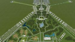 Desain Ibu Kota Baru Terungkap! Ada Monumen Pancasila hingga MRT